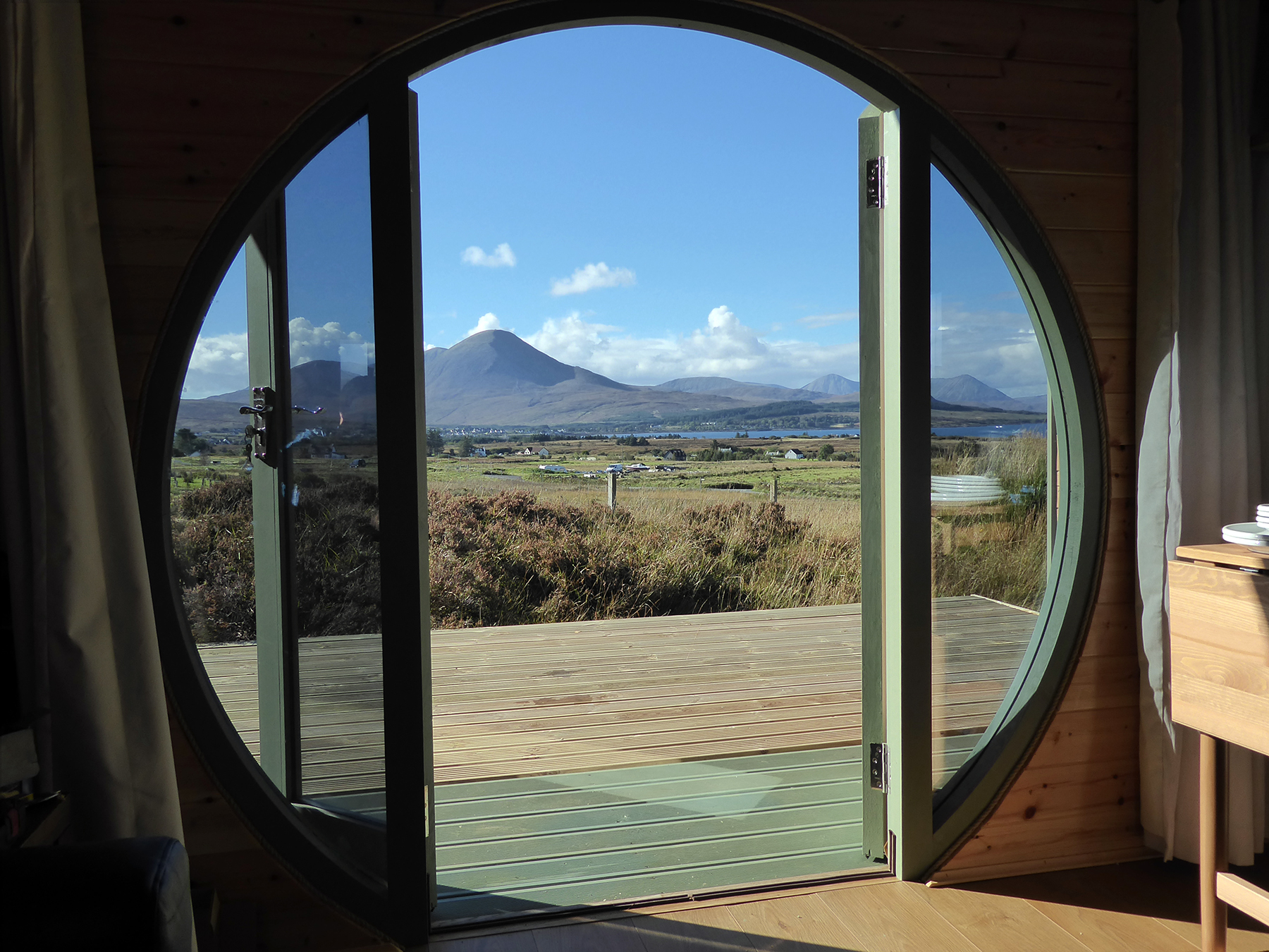 View from the Hobbit House